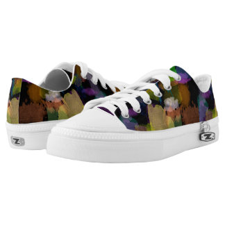 Watercolor Splotches Low Tops