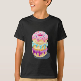 Watercolor stack of donuts T-Shirt