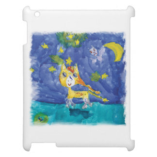 Watercolor Starry Night Pegasus with Bat Case For The iPad