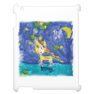 Watercolor Starry Night Pegasus with Bat iPad Covers