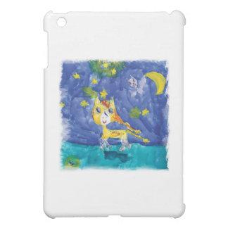 Watercolor Starry Night Pegasus with Bat iPad Mini Covers