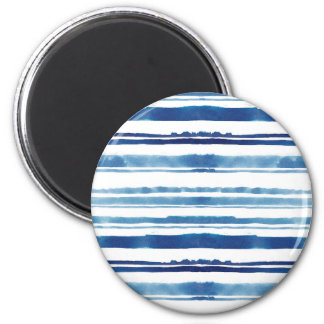 Watercolor Stripe Magnet