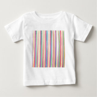 Watercolor Stripes Baby T-Shirt