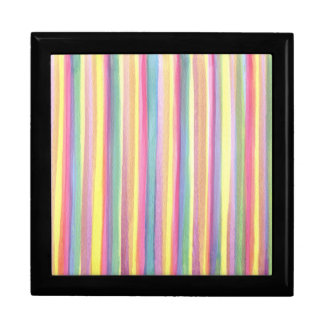 Watercolor Stripes Gift Box
