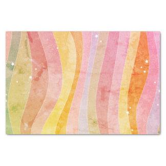 Watercolor Stripes Tissue Paper