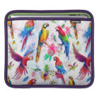 Watercolor Style Parrots iPad Sleeve