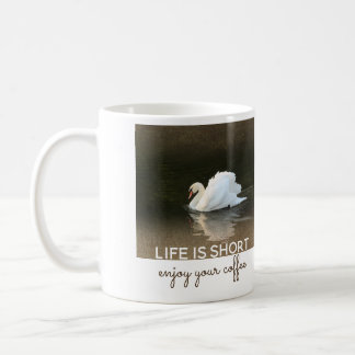 Watercolor Swan Coffee Mug