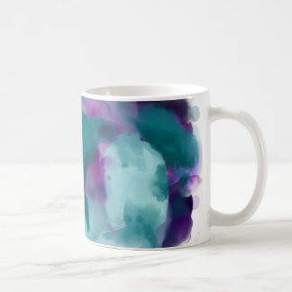Watercolor swirl! coffee mug