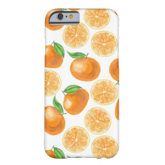 Watercolor tangerines barely there iPhone 6 case