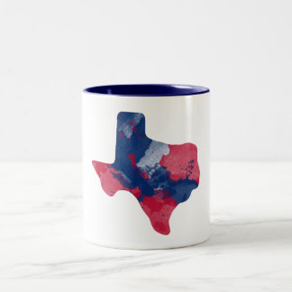 Watercolor Texas Mug