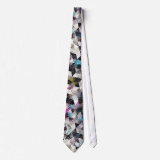 Watercolor Tie Geometric 50-1