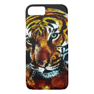 Watercolor Tiger Picture iPhone 7 Case