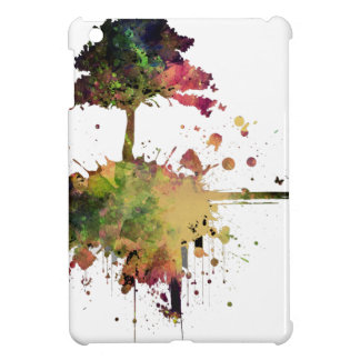 Watercolor Tree iPad Mini Cases
