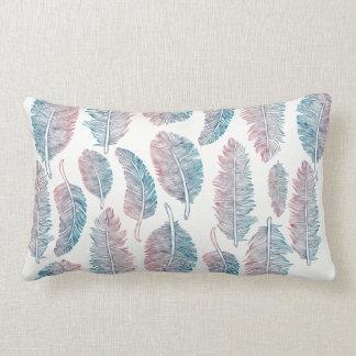 Watercolor Tribal Feathers - All Fabrics Lumbar Cushion