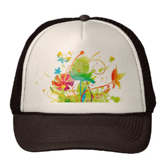 Watercolor Trucker Hat