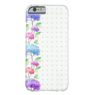 Watercolor vertical seamless pattern border barely there iPhone 6 case