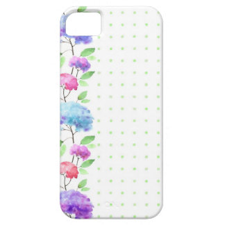 Watercolor vertical seamless pattern border iPhone 5 case