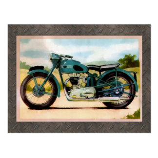 Watercolor Vintage Motorcycle Post Cards