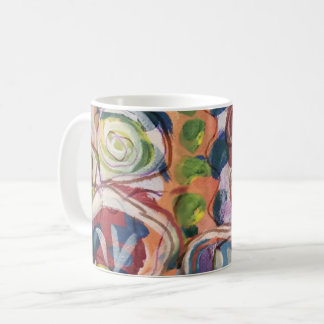 Watercolor Wash Flower Garden Coffee Mug
