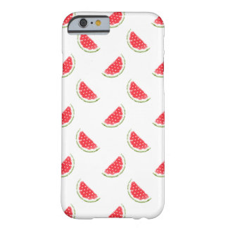 Watercolor Watermelon Pattern Barely There iPhone 6 Case