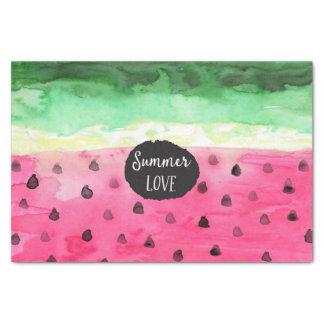 Watercolor Watermelon Tissue Paper