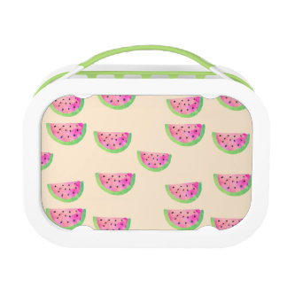Watercolor Watermelons Lunch Box