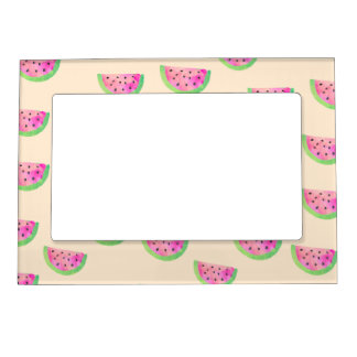 Watercolor Watermelons Magnetic Frame