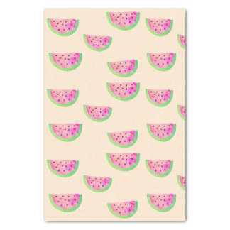 Watercolor Watermelons Tissue Paper