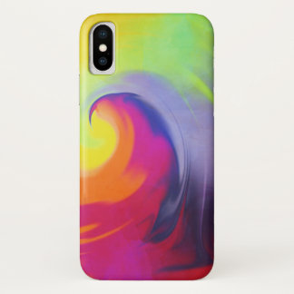 Watercolor Wave - iPhone X case
