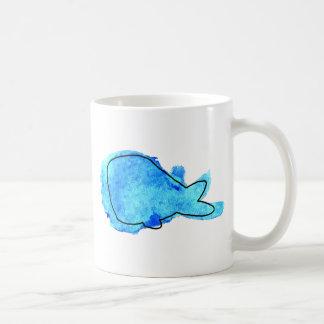 Watercolor Whale Mug
