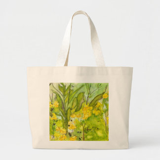 Watercolor Wildflower Bag from Pat Dickson Photo