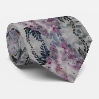 Watercolor Wisteria Tie