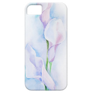 watercolor with 3 callas case for the iPhone 5