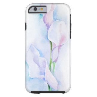 watercolor with 3 callas tough iPhone 6 case