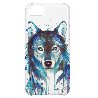 Watercolor Wolf iPhone 5C Case