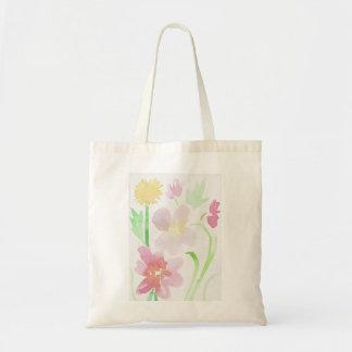 watercolor wonder tote bag