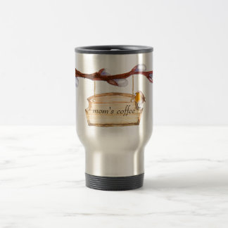 Watercolor Wood Sign Travel Mug