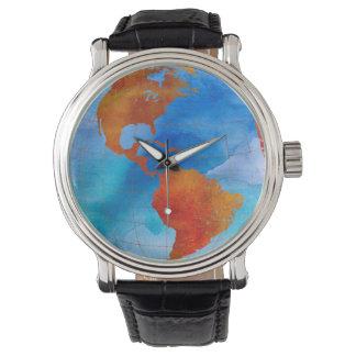 Watercolor World Wristwatch