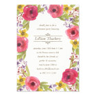Watercolor Wreath | Floral Retirement Party Card