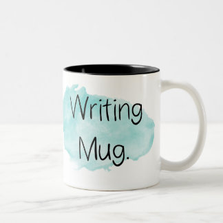 Watercolor Writing Mug for Writer's