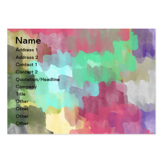 Watercolors Business Cards