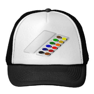 watercolors cap