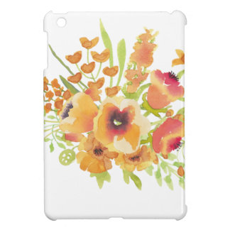 Watercolors flowers iPad mini cases