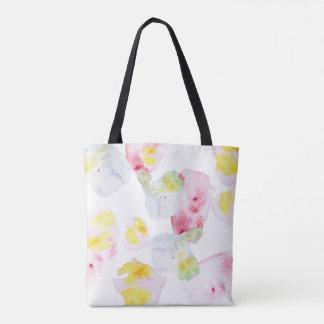 Watercolour Bloom Tote Bag