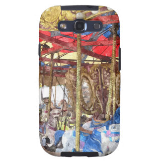 Watercolour Carousel Galaxy SIII Cases