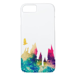 Watercolour Castle iPhone 7 Case