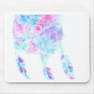 Watercolour Dreamcatcher Mouse Pad
