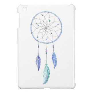Watercolour Dreamcatcher with 3 Feathers iPad Mini Cover