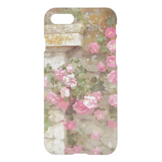 Watercolour Effect Pink Climbing Roses iPhone 7 Case