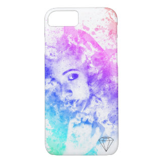 Watercolour Girl iPhone 7 Case